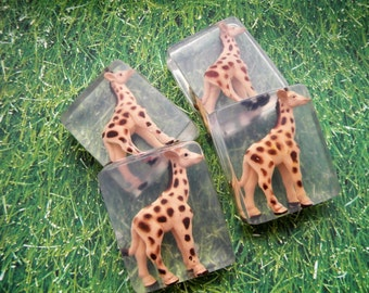 Giraffe Soap / Giraffe Soap Party Favors / Giraffe LTD toy favor