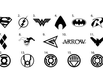 DC Comics Vinyl Decals