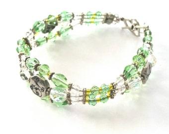 Large Triple Strand Bracelet