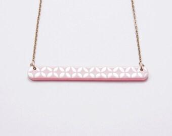 Necklace Little Engraved Quartz