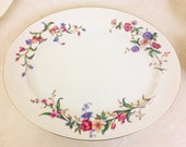 "Wedgwood ""DEVON SPRAYS"" 36cm Oval Serving Platter / Charger, Unused"