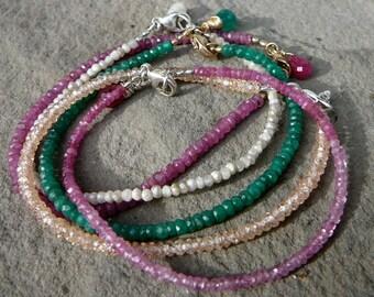 Stacking Bracelet,Layering Bracelet,Stacking Bracelets,Delicate Bracelet,Stackable Bracelet,Gemstone Bracelet,Stackable Gemstone Bracelet