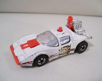 Vintage Hot Wheels Scienc Friction Space Cop Die-cast Car 1977, Hong Kong