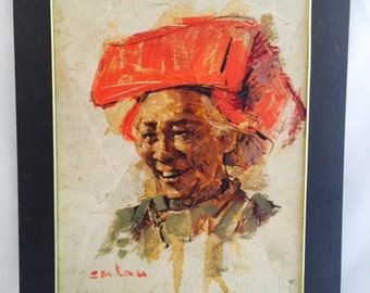 Emlau portrait of Chinese woman
