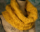 Large Thick Knit Cowl (Free shipping on orders 20 dollars and up! Use coupon code FREESHIP)