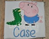 George Pig Peppa Pig Inspired shirt