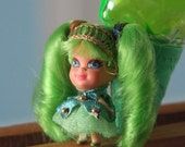 Midcentury Liddle Kiddle Kone Frosty Mint Collectable Doll