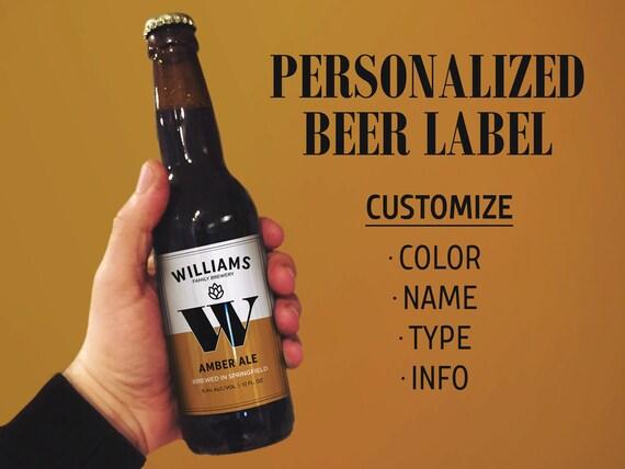 Beer labels beer label maker homebrew beer label for Beer label machine