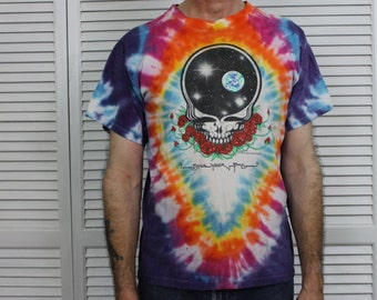 Vintage Rare Grateful Dead T-Shirt Tie Dye Space Your Face