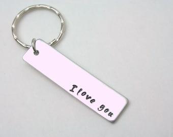 One keychain / I love you keychain