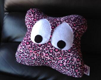 Pink Leopard Fluffy Mooshun