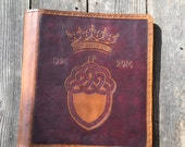 Leather Binder / Hand Tooled  CUSTOM RESERVED