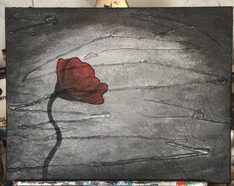 12x16 mixed media painting