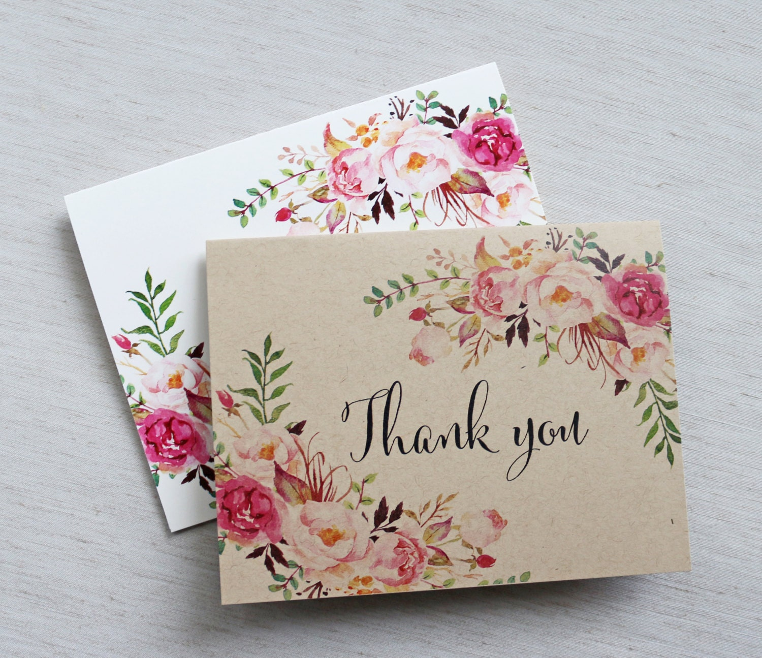 Wedding Notes: Rustic Wedding Thank You Cards. Thank You Cards. Weddings