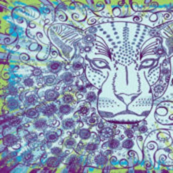 """Leopard FQ Okovango 18"""" x 21"""""""
