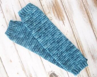 Merino Wool Leg Warmers | Crochet Boot Sock Cuffs | Leg Warmers Women | Knit Legwarmers
