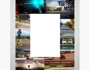 Texas Southern University Picture Frame Photo Mat Personalized Unique Gift School Graduation