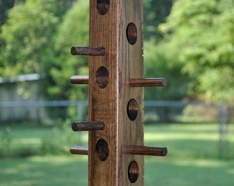 Suet bird feeder made from Red Oak (b)