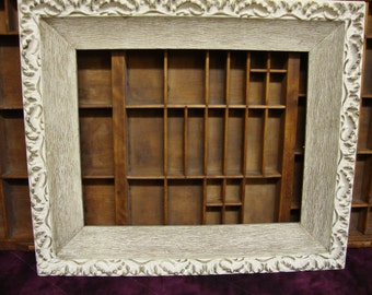 White Ornate Wood Picture Frame 11 x 14