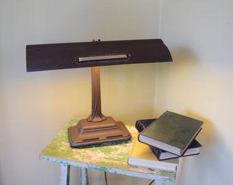 Underwriters Industrial Desk Lamp, Desk Light, Drafting Table Light