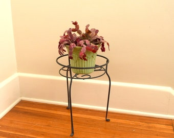 Mid Century Plant Stand Wire