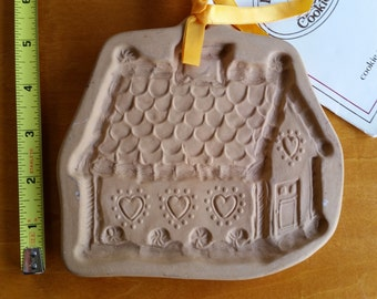 FREE U.S. SHIPPING--Cottage Cookie Mold