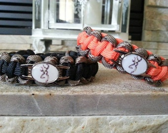 Country Love Couples Paracord Bracelets - FREE SHIPPING