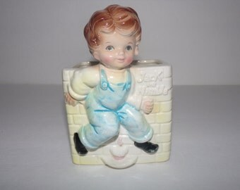 "Vintage ""Jack be Nimble"" Planter   E O Brody Co  1950s     Collectible"