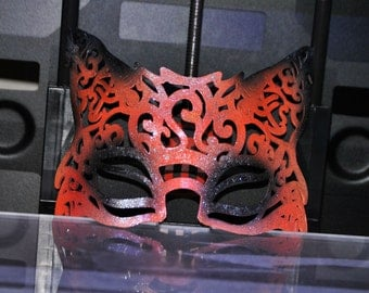 3d Printed Filigree Fox Mask