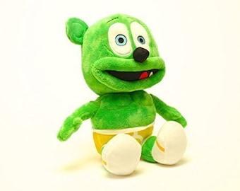 """Gummibär The Gummy Bear 12"""" Plush Toy ~ Soft Cuddly ~ Stuffed Toy ~ Green"""