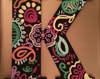 Floral Design Letters