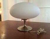 Original Mid Century Modern Laurel Mushroom Tulip Table Lamp
