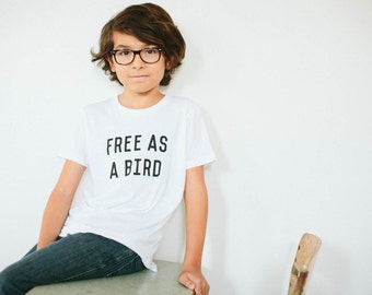 Free As A Bird Children's t-shirt by The Bee & The Fox