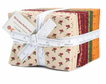 Christmas Gatherings Fat Quarter Pack (AB40) by Primitive Gatherings for Moda