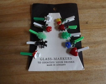 Glass Markers Charms