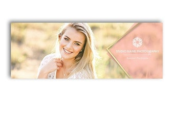 SALE Photography Facebook Timeline Cover Template - GLAM - 1266