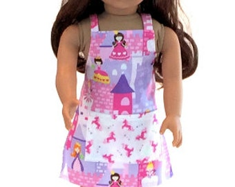 """Doll's  Apron, dolls clothes, 18"""" Doll's clothes,  18"""" doll Apron"""