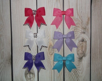 Mini Bows, Bows,Baby Hair Bows, New Born Bows, Tiny Bows, Hook and Loop Hair Bows,Small Bows,Boutique Hair Bows,Grosgrain Bows
