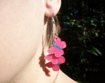 Butterfly Fluttershy Inspired Earrings