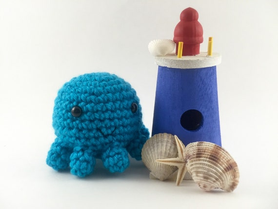 Mini Amigurumi Octopus : Mini amigurumi octopus crochet octopus octopus by ...