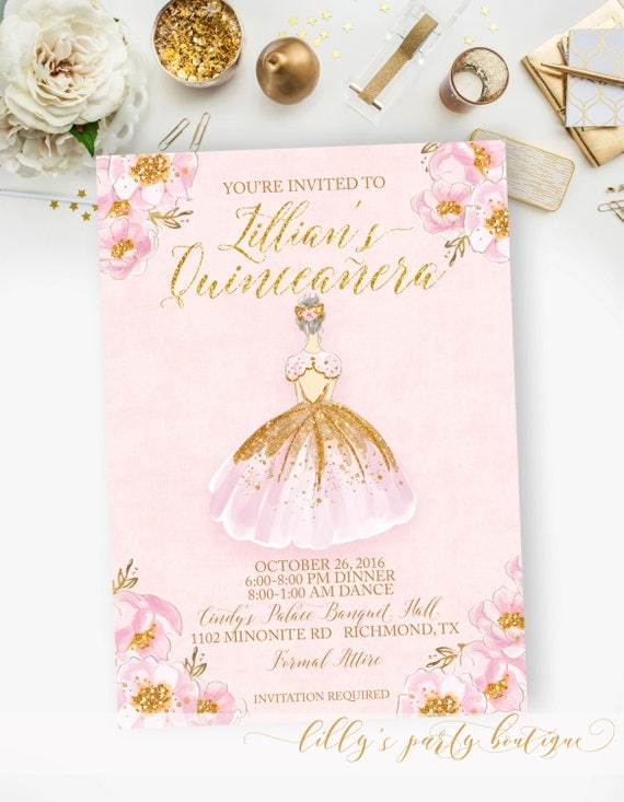 Agile image intended for printable quinceanera invitations