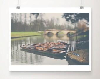 cambridge photograph river cam photograph punting photograph bridge photograph tree photograph cambridge print travel photography