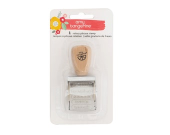 Amy Tangerine - Oh Happy Life Collection - Roller Stamp - 1 piece - 376231
