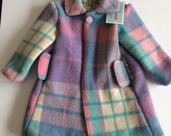 Pure wool coat size 2-3 yrs