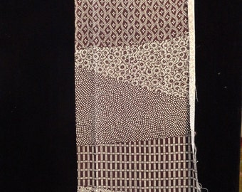 SF1557 Flowers and Lattice Make your own scarf