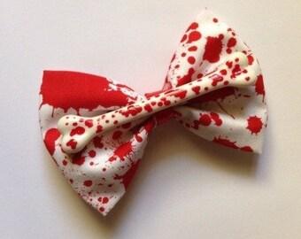 Blood & Bone Bow Fascinator