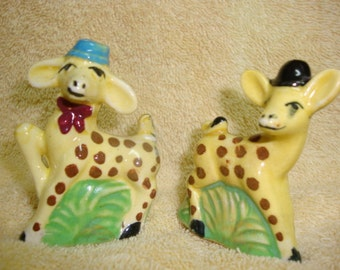 Giraffe Salt and Pepper Shakers