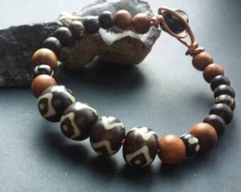 Unisex Wooded Bracelet