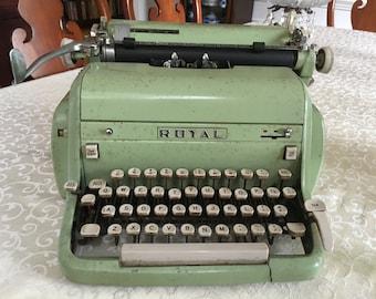Vintage Royal typewriter heavy metal