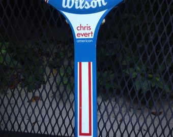"Chris Evert ""American"" Womans Tennis Racquet"